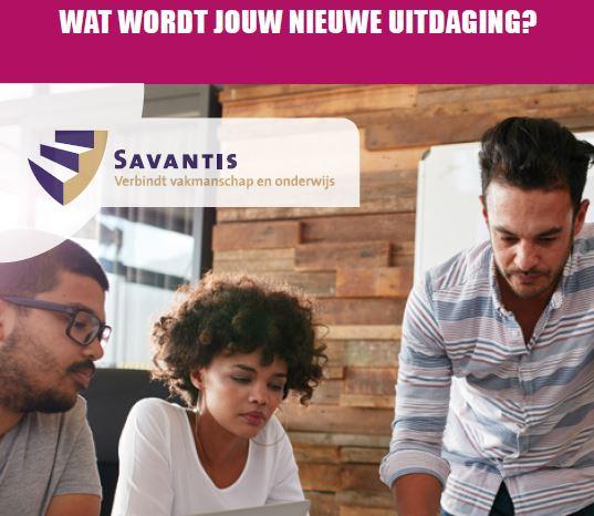 Trainingsaanbod 2018 - Savantis - Wat wordt jouw nieuwe uitdaging?