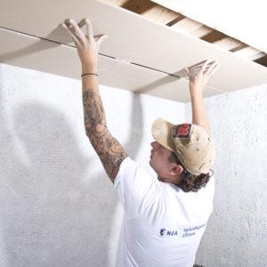 Plafond-/wandmonteur - examen