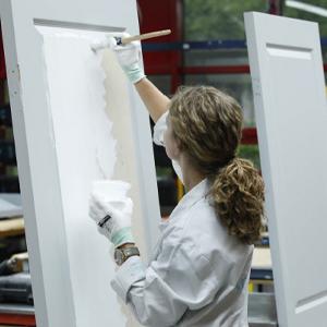 schilders- en onderhoudswerkzaamheden voor de assistent