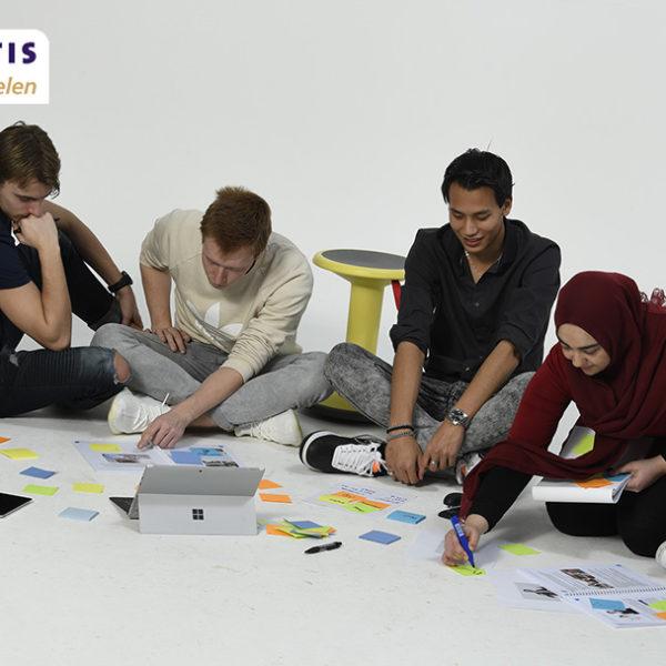 ontwikkel lesmaterialen met behulp van co-creatie